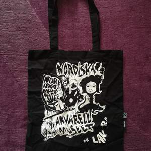 A fairly new tote bag, worn once