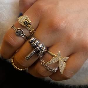 Säljer dessa ringar 79kr/st 🤍 15kr frakt. 🖕slut.