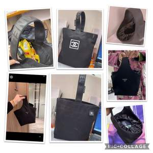 Ännu meeer sååå fina retro clutches/handväskor finns att köpa, första bilden är de chanel och prada inspererade väskor, och den andra Fendi, de är egen gjorda jackor och finns kvar att köpa😍