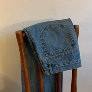 Jeans från A.P.C i nyskick. Nypris 1900 kronor.