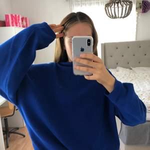 Blå Tjocktröja💦🦋🐬💙