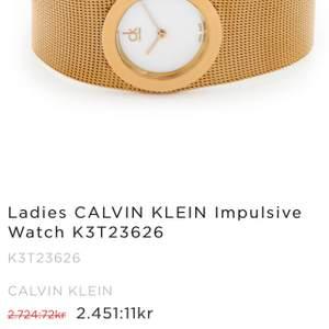 Super fin Calvin Klein klocka som passar till alla kläder och tillfällen, väldigt classy!!!🤍köpt för nästan 2800kr, köparen står för frakten