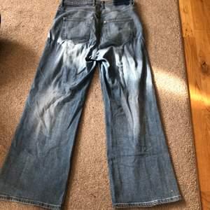 """""""Min jeans"""" men väldigt vida ankel längd på mig some 170!"""