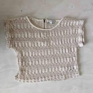 Virkat T-shirt S (snygg på stranden😎k) Gratis frakt - 35kr