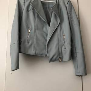 New never worn leather jacket in uk size 10 eu size 38
