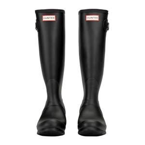 Äkta original hunters boots storlek 38. Oanvända och i stilren matt svart färg!