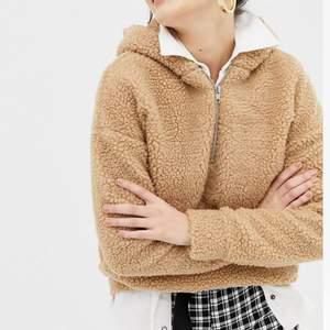 Daisy street oversized hoodie in teddy fleece. Nypris 399, använd 1 gång.