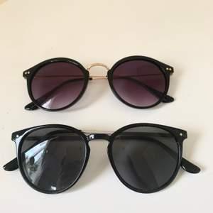 Säljer 4 par solglasögon som jag inte använder💕 35 st eller två för 60kr