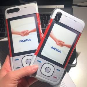 Oanvända iPhone skal, finns i modeller: 7/8plus, xs Max. 89 kr / st + frakt 12