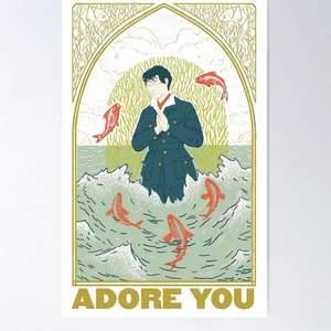 En adore you poster. Säljer pga råkade köpa en för mycket. Priset är på 150kr+frakt, kan även mötas upp ( pris kan diskuteras)