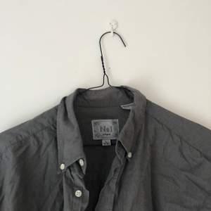 Snygg grå oversized skjorta! ❤️