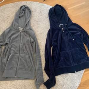 Två stycken hoodies med dragkedja från Cubus. Den grå är storleken xs och den blå är storleken S, men det är knappt någon skillnad. Om man bara är intresserad av ena så är det inga problem. Köparen står för frakten🥰
