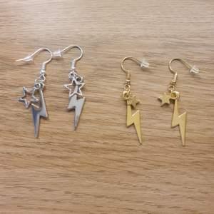Coola handgjorda örhängen. 60 kr+frakt/par💕