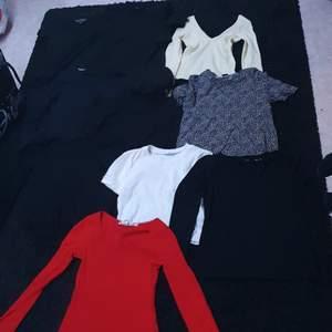 Olika tröjor, paketpris 100kr eller kom med bud, storlekar xs/s