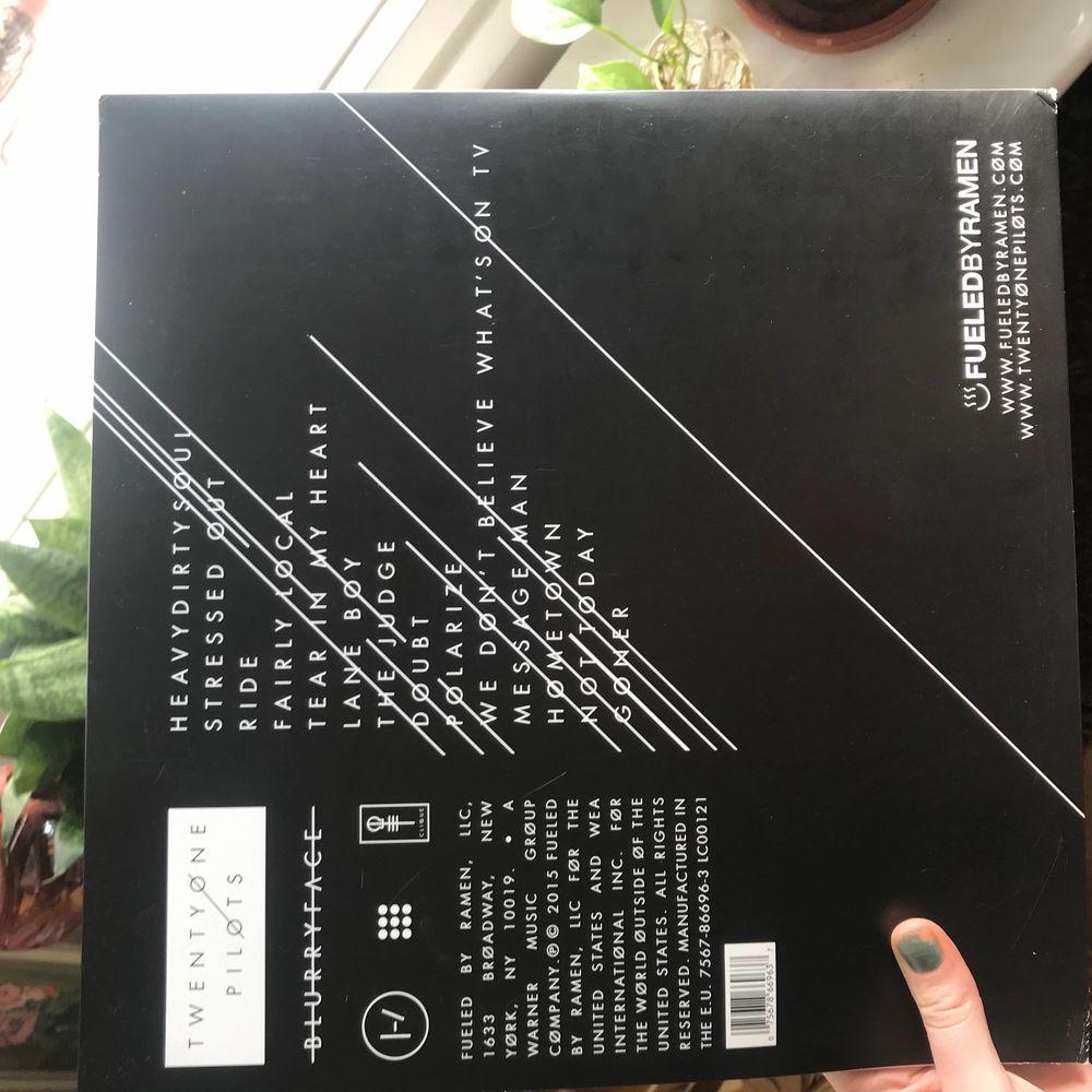 Dubbelvinyl, Twentt one pilots album Blurryface! Använd 4 gånger!! Som ny!. Övrigt.