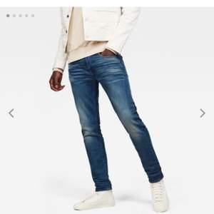 Schyssta jeans från G-star raw. Modell 3301 slim. Storlek-midja:30 längd:34. Köparen står för frakten. Fraktar endast