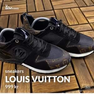 Helt nya oanvända Louis Vuitton sneakers. Replika!