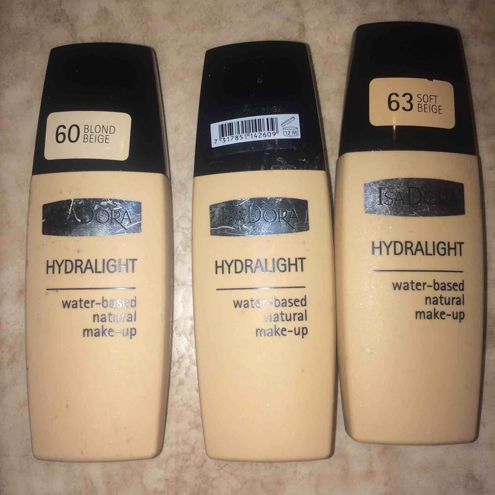 Färg 60 och 63 Hydralight. Övrigt.