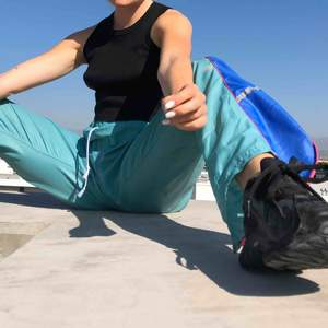 VINTAGE PANTS Colorful pants 80s vibes 💙💚💛🧡