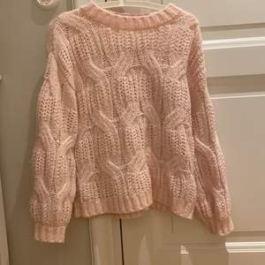 Superfin stickad sweater