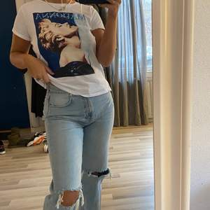 Jättecool t-shirt med Madonna tryck💜💕🌈