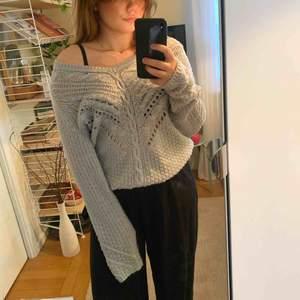 Stickad tröja från hm 😍 storlek M   Möts upp i Stockholmsområdet eller fraktar 🥰