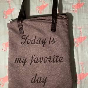Daglig väska. Super bra