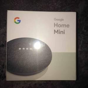 Google home mini oöppnad Smidig hjälp till vardagen Svarar på frågor, sätter alarm och mycket mer