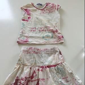 Kjol och t-shirt för barn från kenzo