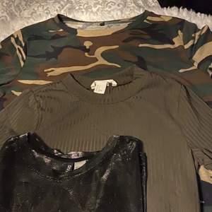 Tre coola T-shirts för 175 med frakten inräknad, den svara e lite genomskinlig:)