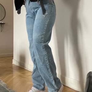 Liknande Levis jeans, W33 L34 sitter som L. Köpta förra veckan så endast testade.