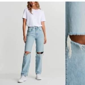 90s jeans från Gina tricot i storlek 34. Säljer för de sitter lite för stora på mig.