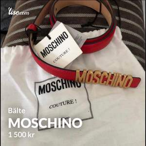 Nytt oanvänt bälte från moschino