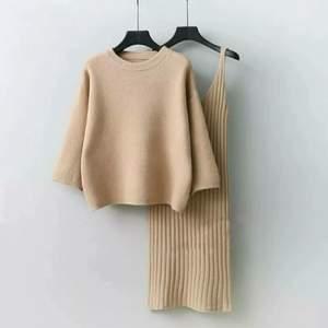 Ny..tröja och klänning..material:Trikå