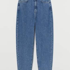 Säljer dessa loose mom jeans från hm i stl 38 (passar 40) då dem är för stora på mig. 60kr + frakt