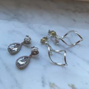 Säljer två jättefina clipsörhängen som aldrig är använda 💕 1 par: 30kr, köp båda för 40kr 💖