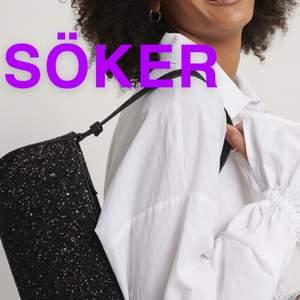 söker denna svarta glittriga väska från Nakd, kan betala bra för💖slutsåld på hemsidan