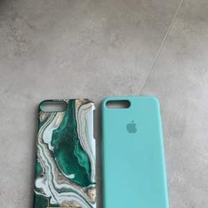 Superfina skal till iPhone 7+, det enda från Apple är helt oanvänt och det från Ideal of sweden är i bra skick förutom en skråma som syns på bilden.                                    Ideal of sweden: 40kr och Apple: 60 kr