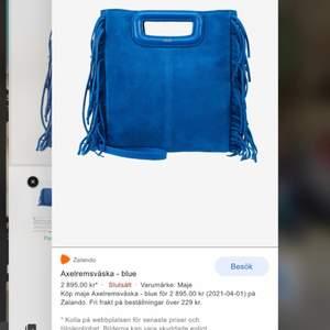 Intresserad? Här är min super fina Slutsålda maje väska i storlek Stor. Vill kolla vad folk är beredda att betala. Väskan var köpt på maje förra vintern. Väldigt sparsamt använt och är som ny! köpte den för 2900kr