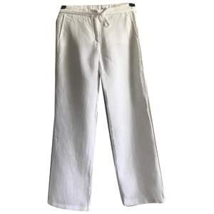 Väldigt snygga linne byxor från Joseph, nypris 4000-3000 100% linne. Säljer direkt för 700kr eller buda från 400 ☺️ storlek xs och långa pluss lågmidjade!