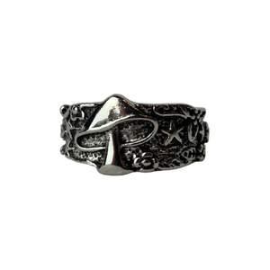 Silverfärgad ring!