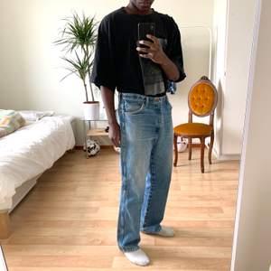 Blå Jeans från Wrangler  Wrangler Blue jeans  W36L39  #diviinethrift #streetwear #wrangler  #skate