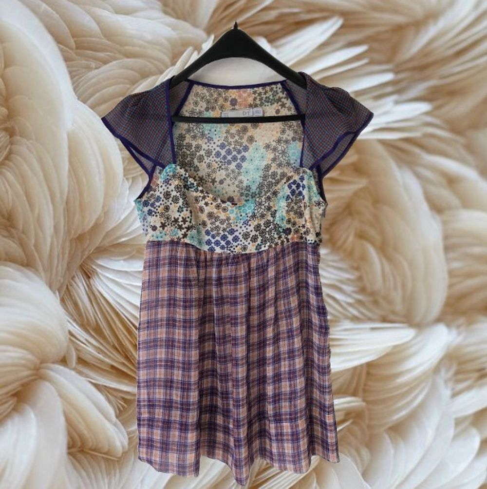 ZARA boho multicolored bloouse. Size M  Pick up available in Kungsholmen  Please check out my other items! :). Blusar.