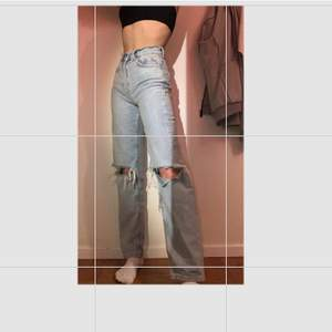 Gina jeans 80s style tror jag💖 köpta för 600kr
