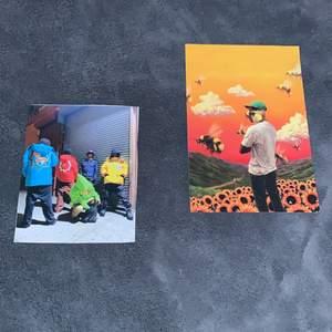 Två asfina bilder kan kan ja på väggen! Tyler the creator bilden för 25 kr och den andra för 20, eller båda för 45!❤️ TYLER THE CREATOR BILDEN ÄR SÅLD!