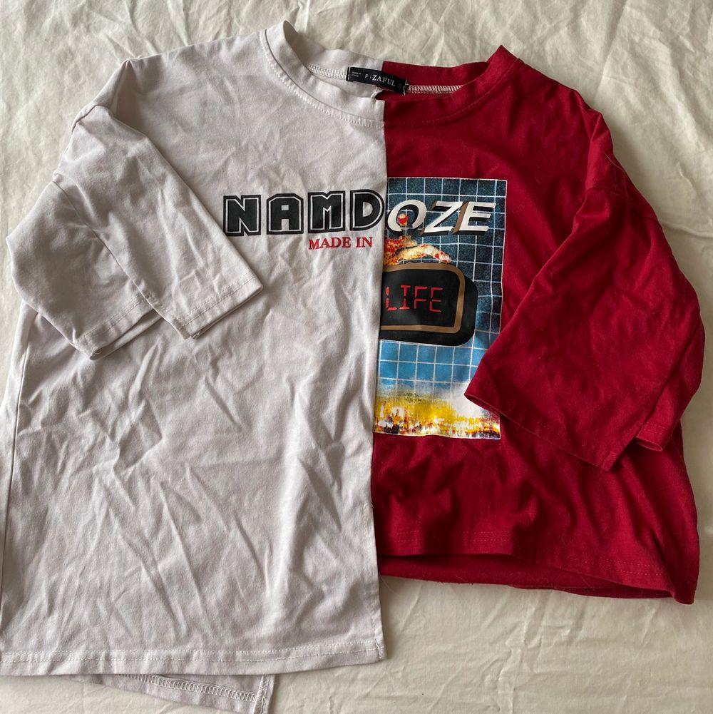 Cool T-shirt från ZAFUL i storlek S. . T-shirts.