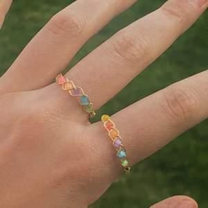 Säljer dessa handgjorda ringar i guld-färg som ska representera de 6 olika infinity stones från Marvel-filmerna❤️❤️ De görs på beställning och man kan även få dessa i silver🥰 Frakt: 30kr