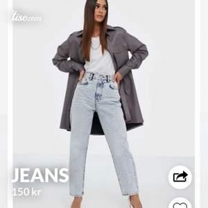 Ett par jätte snygga jeans från Nelly. Storlek 32/34 Pris: 150kr ink frakt. Meddela om ni vill ha flera bilder💕💕