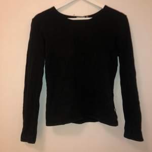 Säljer nu min svarta enkla tröja från indiska, tröjan är i ett ganska bastant tyg och bra kvalite. Tröjan är sparspamt använd men de gångerna använt den har den varit så skön och snygg!