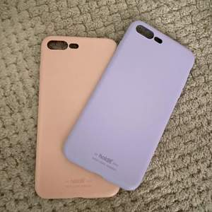 iphone 8+/7+ silikonsskal i fint skick. Dessa kommer ej komma till användning på grund av ny mobil. 130kr för båda + frakt.
